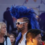 XLNT Marc killen med coolaste håret på Pride 2017