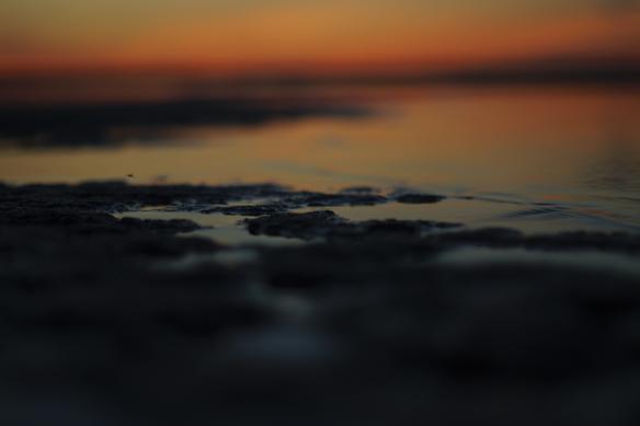 Så här dokumenterar jag en solnedgång på mitt sätt, säger Peter Ahlborg. Foto Peter Ahlborg