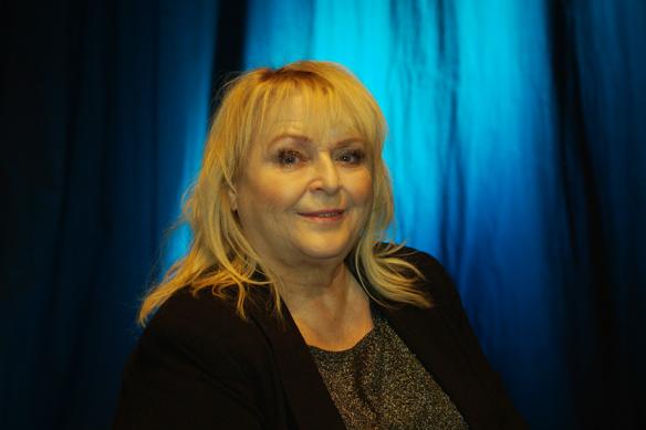 Den rutinerade artisten Kikki Danielsson ställer upp i Melodifestivalen för tionde gången. Foto: Peter Ahlborg