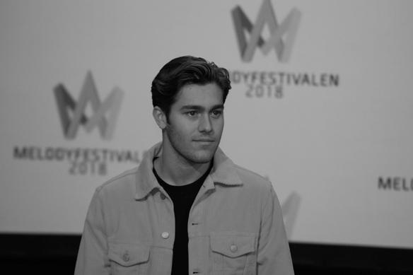 """Benjamin Ingrosso är med i Melodifestivalen för andra året i rad, i år tävlar han med låten """"Dance You Off"""". Foto: Peter Ahlborg"""