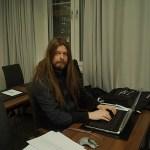 Peter Ahlborg förhandslyssnade på Melodifestival-låtarna i Göteborg