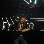 Det blir många bananer under Melodifestivalen för Peter Ahlborg