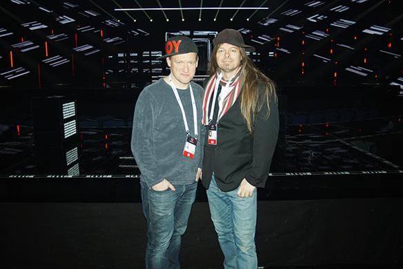 """han vet, eller rapporterar om i Melodifestivalen, har inte hänt"""", säger Peter Ahlborg om Tobbe Ek. P.S: Tack Pelle T Nilsson för att du tog bilden. Foto: Pelle T Nilsson"""