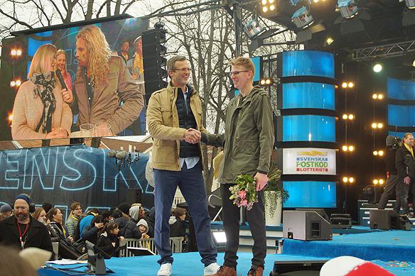 Sami Rantila, 41, vann mest när Postkodlotteriet kom till Vänersborg. Han vann över 15,7 miljoner kronor. Foto: Peter Ahlborg