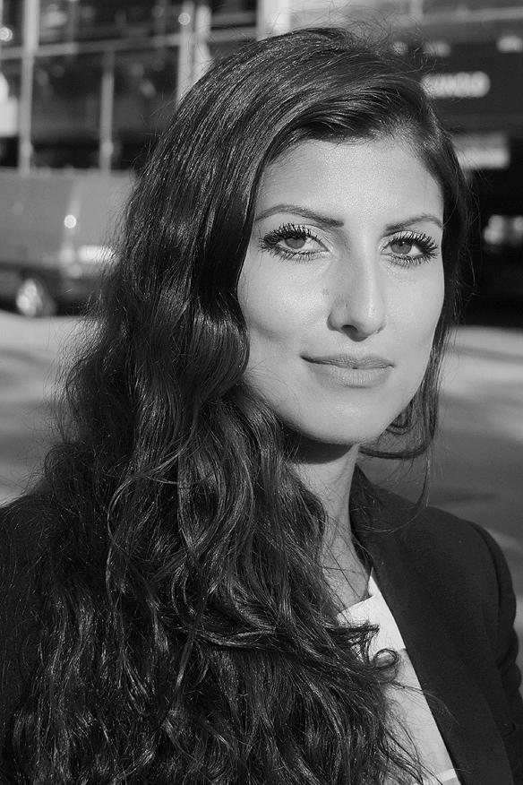 Träffade på Aram - denna intressanta och trevliga kvinna innan konserten med Hollywood Vampires på Liseberg den 6 juni 2018. Foto: Peter Ahlborg