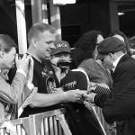 Peter Ahlborg fotograferar superstjärnan Johnny Depp