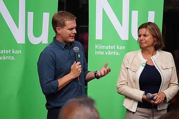 PeterAhlborgbevakar valspurten här i Stockholm vid valstugorna vid Sergels Torg i Stockholm fredagen den 7 september 2018. Foto:PeterAhlborg