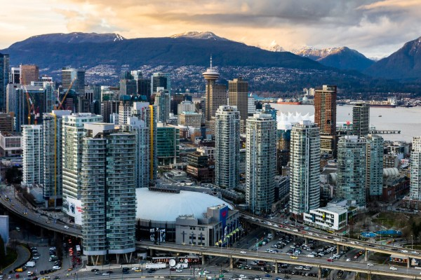 drone video vancouver