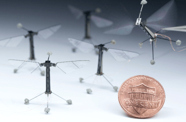 The 2013 model of Harvard's Robobee.