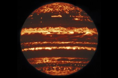 Jupiter in Infrared.