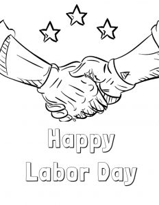 labor day coloring pages free printable fyi by tina