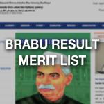 BRABU Merit List