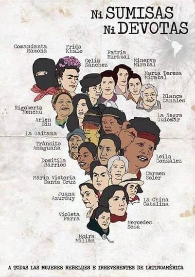 αγωνίστριες λατινικής αμερικής