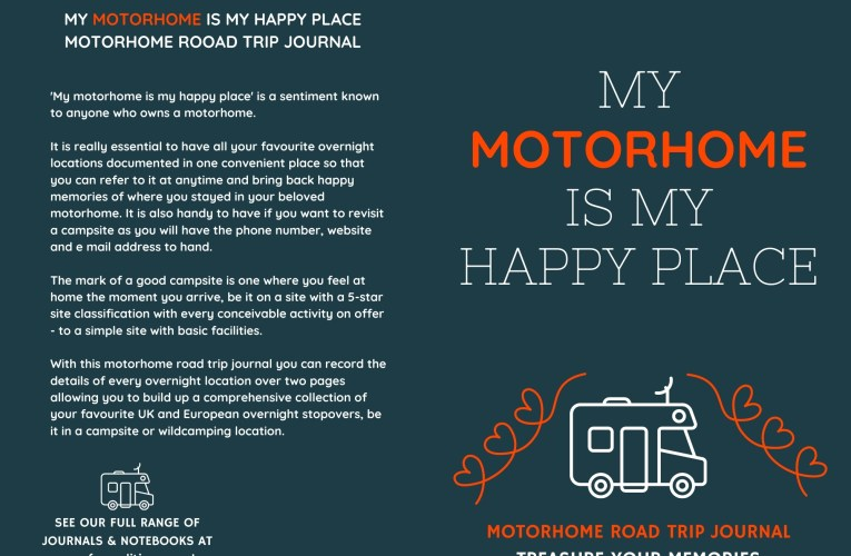 My Motorhome Is My Happy Place is an inexpensive motorhome gift