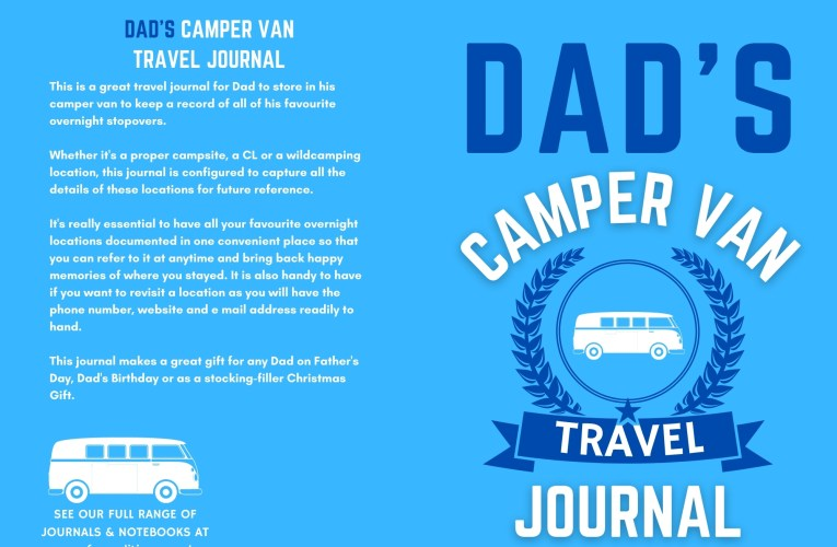 Sorted – The Best Camper Van Gift For A Father – with FREE POSTAGE
