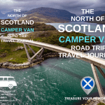 Cover - The North Of Scotland Camper Van Road Trip Travel Journal