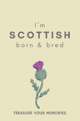 Scottish Born & Bred Notebook