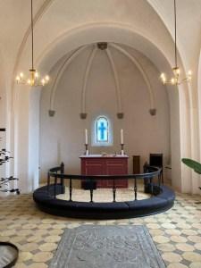 Koret i Herrested Kirke
