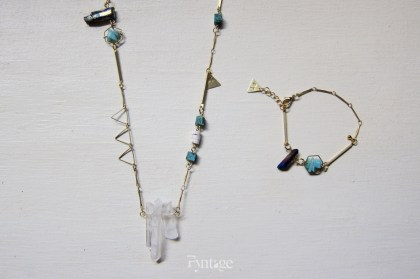 MIX QUARTZ JEWELRY SET