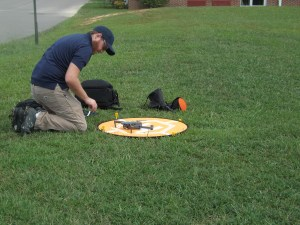 Drone Pilot Take Off Landing Pad