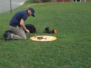 Drone Pilot Take Off Landing Pad