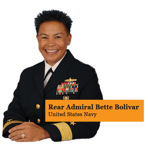 Rear Admiral Bette Bolivar