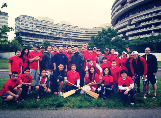 FYP-DC is actively involved with Dragon Boat Racing every year.