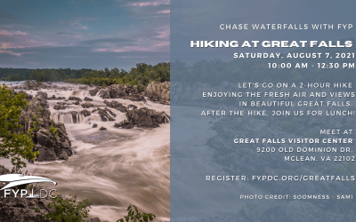 Event: FYP-DC Great Falls Hike – August 7, 2021