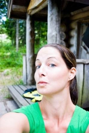 Jenny Kuisma, hänpä osaa kuvata ilotulituksia