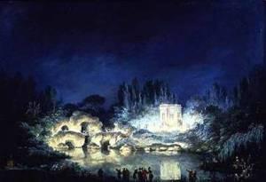 Parkillumination från Frankrike, 1700-talet