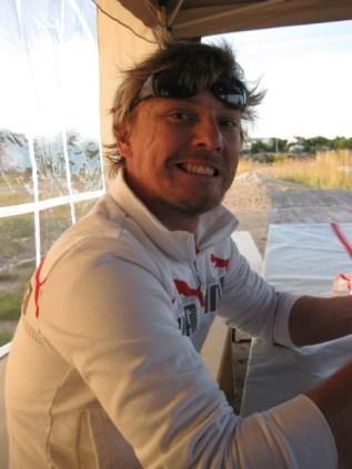 Anders Augustson, miehemme Hankoossa