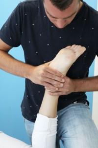 enkel voet klachten fysio