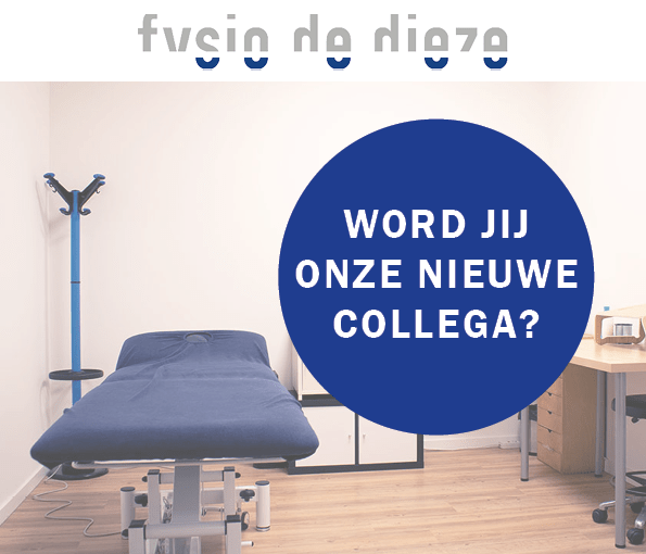 Vacature fysiotherapeute