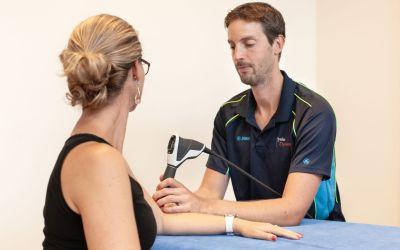 Fysiotherapeutische behandeling met shockwavetherapie bij Fysiodynamics