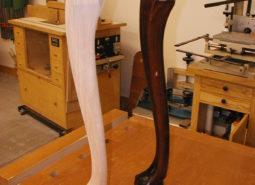 Ball & Claw Leg (reproduction)
