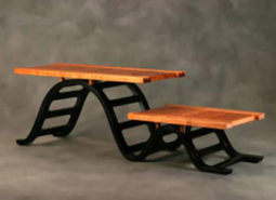 """De-Railed"" Casual Table"