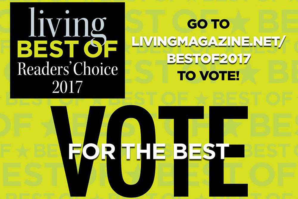Vote for Best of Living Magazine 2017