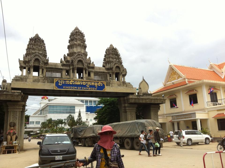 タイ-カンボジア間の国境、ポイペト