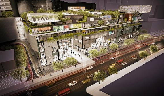BTSプロンポン駅前のエムスフィア2016年完成予定