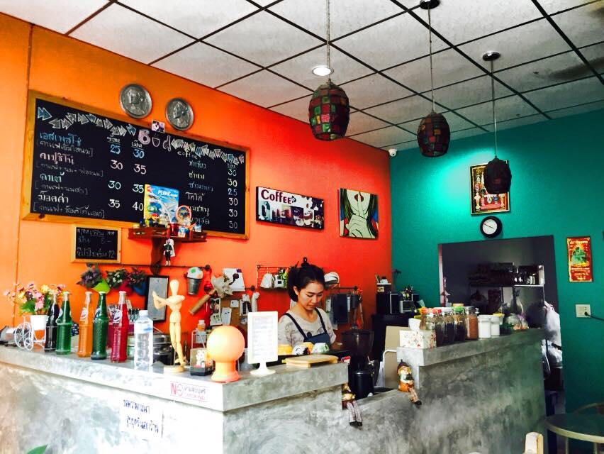 サムットプラカーンのカフェ