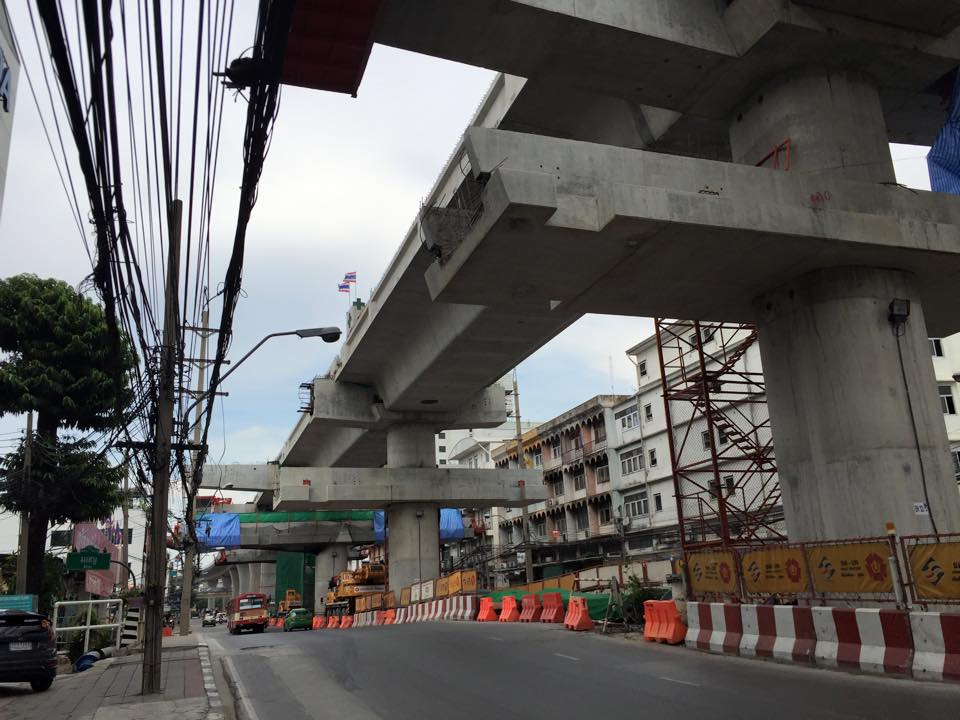 MRTブルーライン延伸工事・バンオー駅