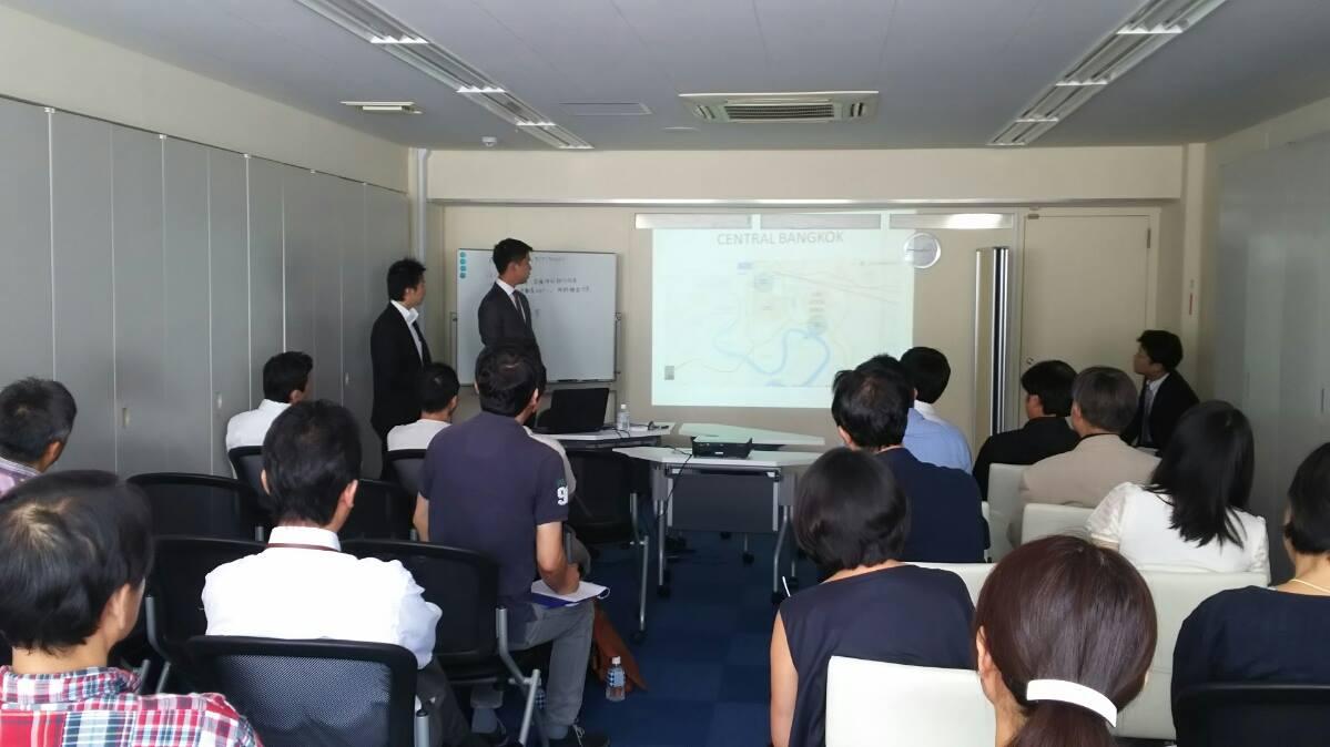タイの開発業者を呼んでセミナー