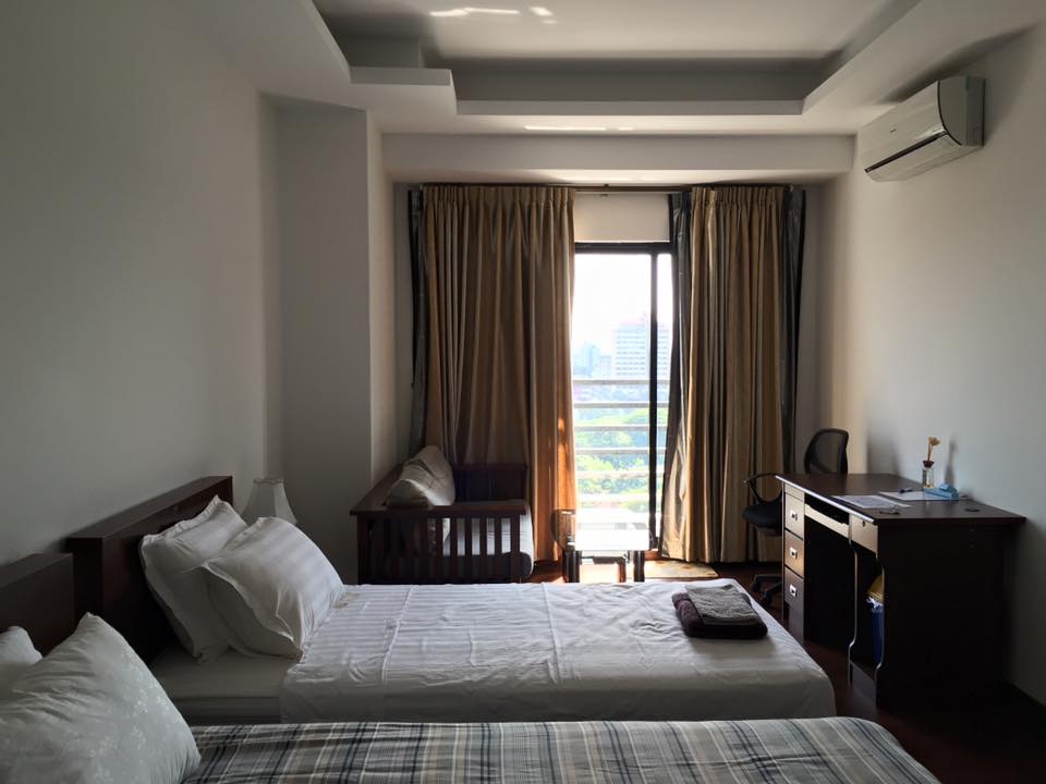 Yangon Condominium bedroom