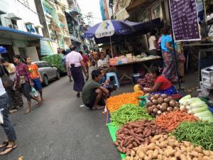 yangon city market