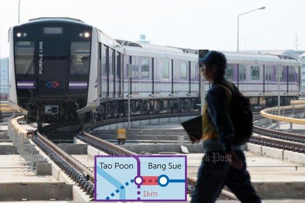 Purple line Bangkok
