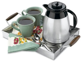 dtc975bkn carafe tray 285px - Cuisinart DTC-975BKN Thermal 12-Cup Programmable Coffeemaker, Black