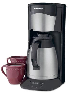 dtc975bkn hero 285px - Cuisinart DTC-975BKN Thermal 12-Cup Programmable Coffeemaker, Black