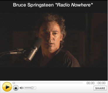 See Bruce Springsteen's new video