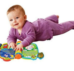 Light up learning time for your little one with the Rhyme & Discover Book!