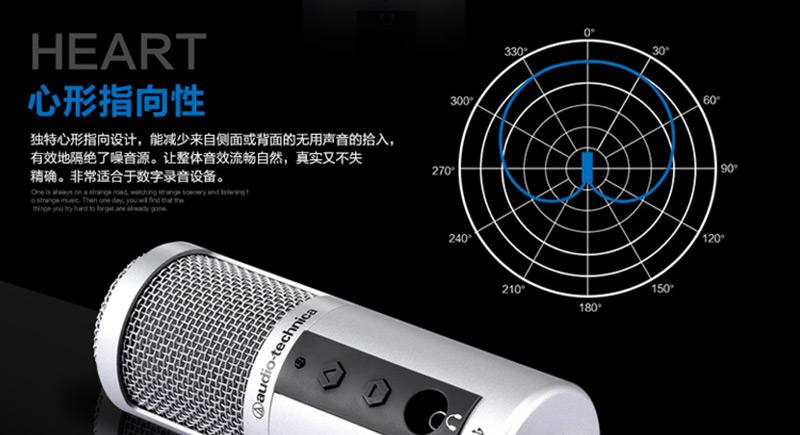 Atr2500 Usb Condenser Usb Microphone